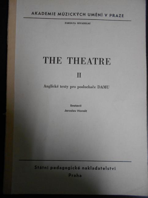 The theatre II.