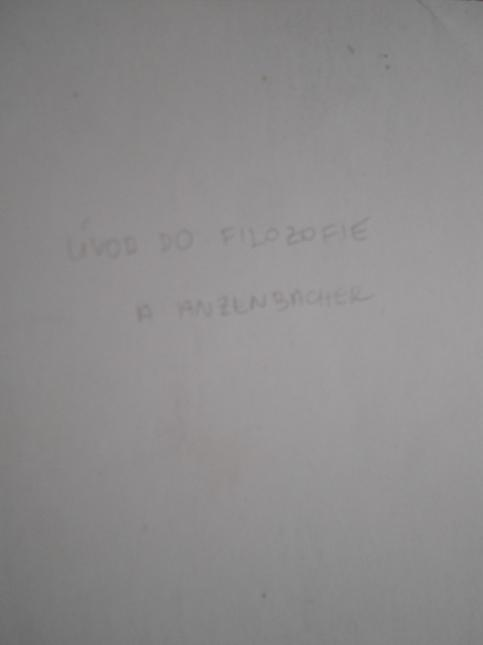 Úvod do filozofie