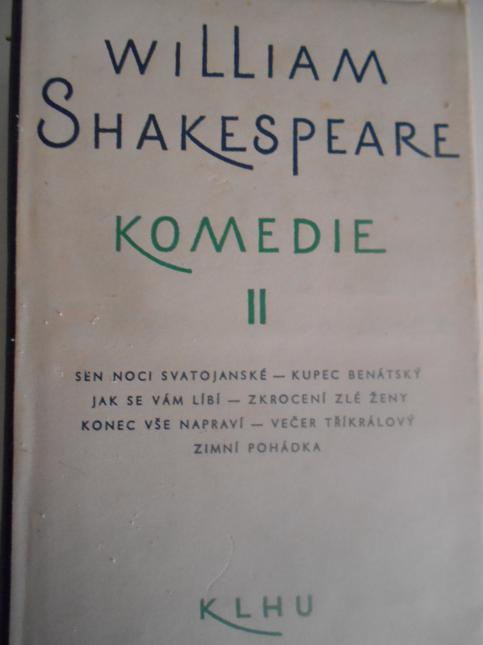 William Shakespeare Komedie II